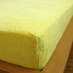 Prostěradlo 180x200 mikro.dovoz - žluté