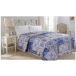 Přehoz na postel 140x220 varianty - Přehoz přes posetel jednolůžko vzor Motýl