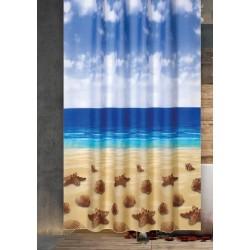 Koupelnový závěs 180x200 cm 100% Polyester - vzor 10019