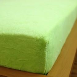 Prostěradlo mikrovlákno 180x200 cm - zelené