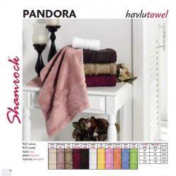 Ručník PANDORA - dbrown - tmavě hnědá