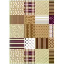 Ubrusovina PVC s textilním podkladem - vzor 445.3