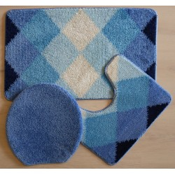 Předl.Von.50x80 3ks KARO - modrá