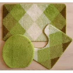 Koupelnová předložka - zelená