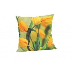 Povlak na polštář fototisk - vzor 4047 tulipán