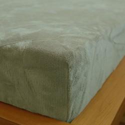 Prostěradlo mikrovlákno 90x200 cm - šedé