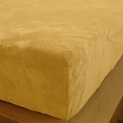 Prostěradlo mikrovlákno 90x200 cm - vanilkové