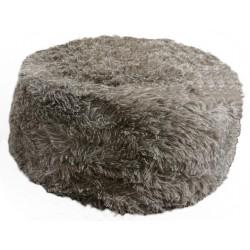 Polštářek kulatý vlas - tmavý vlas