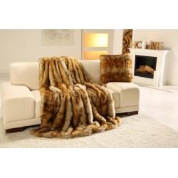 Exkluzivní deka 150x200 cm - vzor imitace liška