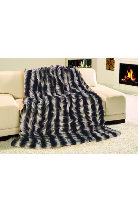 Exkluzivní deka 150x200 cm - vzor imitace činčila