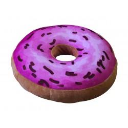 Polštářek Donut - vzor růžový