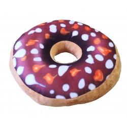 Polštářek Donut - vzor puntíkatý
