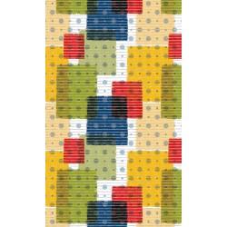 Aqua-mat koupelnová rohož šíře 65 cm - vzor 447-1