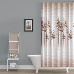 Koupelnový závěs 180x200 cm 100% Polyester - vzor 3390 BE