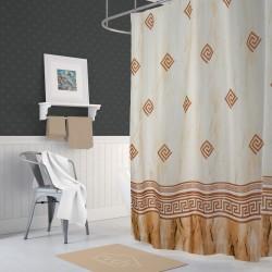 Koupelnový závěs 180x200 cm 100% Polyester - vzor 4860 HN