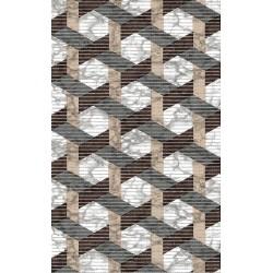 Aqua-mat koupelnová rohož šíře 65 cm - vzor 4029-1