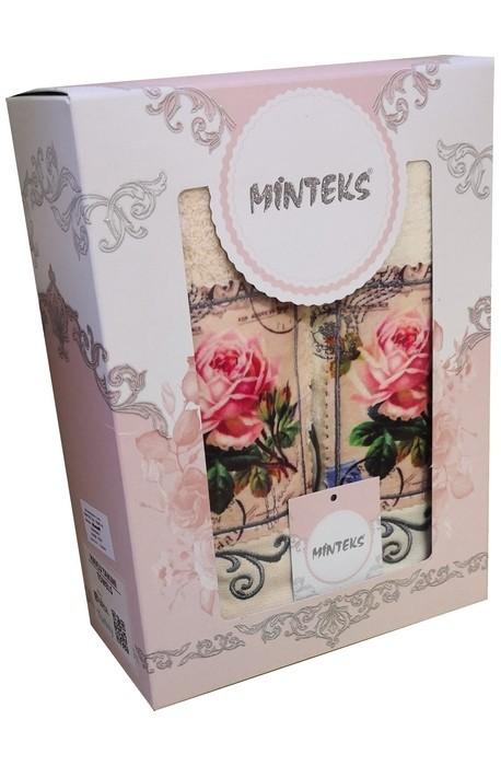 Dárkový set ručníků 2ks - vzor růže