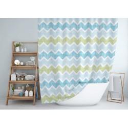 Koupelnový závěs 180x200 cm 100% Polyester - vzor 3588
