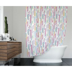 Koupelnový závěs 180x200 cm 100% Polyester - vzor 9385