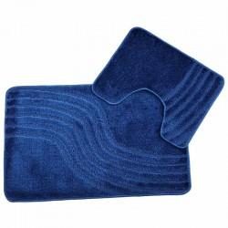 Koupelnová předložka 2ks - modrá