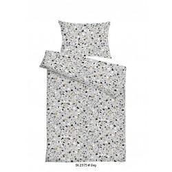Ložní povlečení KREP - vzor 2575 šedé
