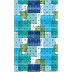 Aqua-mat koupelnová rohož šíře 130 cm - vzor 447-3