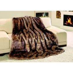 Exkluzivní deka 150x200 cm - vzor imitace sobol