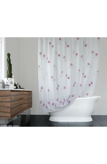 Koupelnový závěs 180x200 cm 100% Polyester - vzor 11077