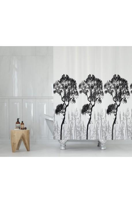 Koupelnový závěs 180x200 cm 100% Polyester - vzor 3391