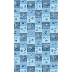 Aqua-mat koupelnová rohož šíře 65 cm - vzor 497-3