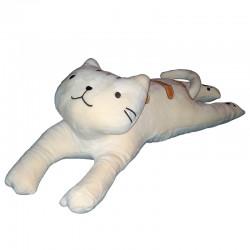 Polštářek kočka dlouhá 4D - kočka dlouhá vanilka