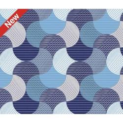 Aqua-nova koupelnová rohož šíře 65 cm - vzor 544A