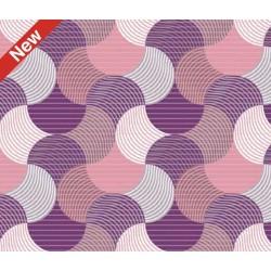 Aqua-nova koupelnová rohož šíře 65 cm - vzor 544D